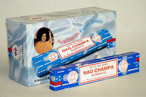 Nag Champa Incense (15 Gram Box)