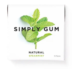 Spearmint Natural Chewing Gum