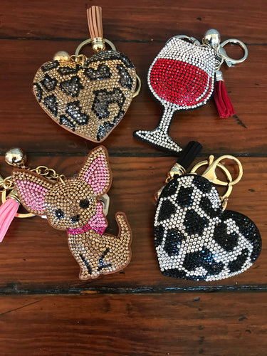 Bling Key Chains