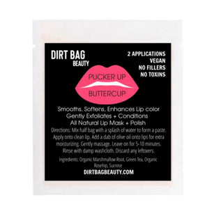 Pucker Up Buttercup Lip Mask & Polish