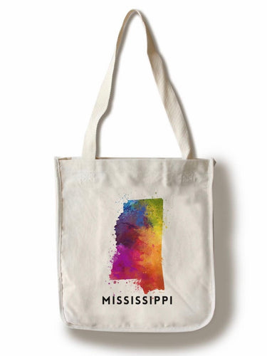 Watercolor MS Tote Bag