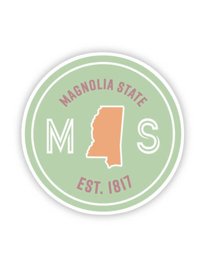 Magnolia State Sticker