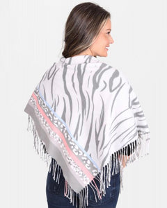 Pale Animal Print Scarf (2 colors)