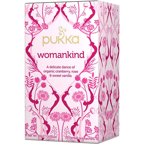 PUKKA Womankind 20 herbal tea sachets