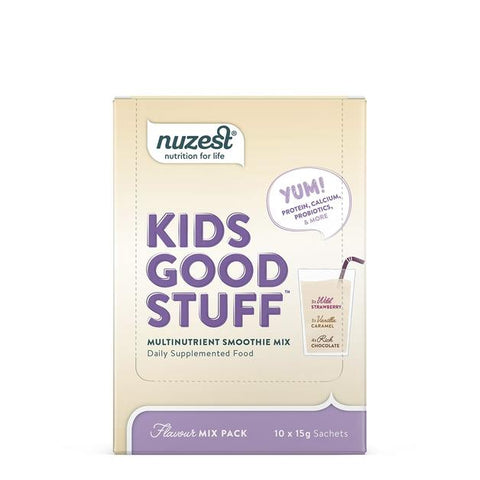 Nuzest Kids GS Smoothie Assorted each Mix pack