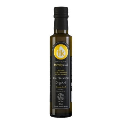 Totally Kiwi Flax Seed Oil Organic 250ml