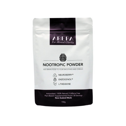 Arepa Nootropic Powder 150g For Mental Clarity