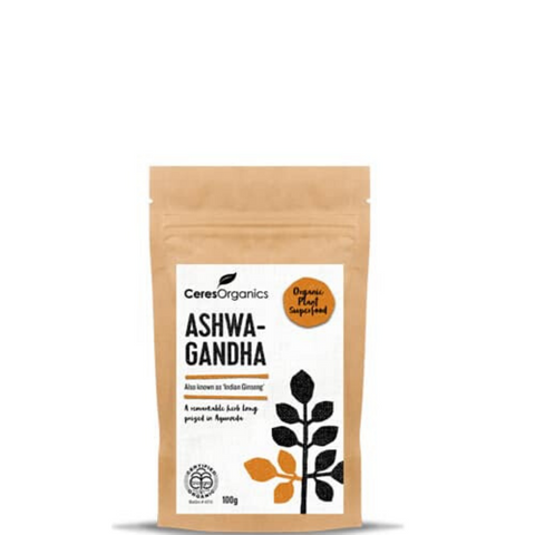Ceres Ashwagandha (Indian Ginseng) Organic 100g