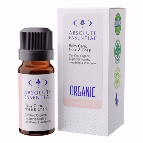 Absolute Essential Baby Care Nose & Chest Organic 10ml