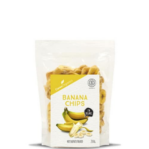 Ceres Banana Chips Organic 200g