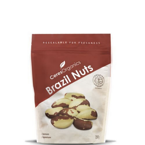 Ceres Brazil Nuts Organic 250g