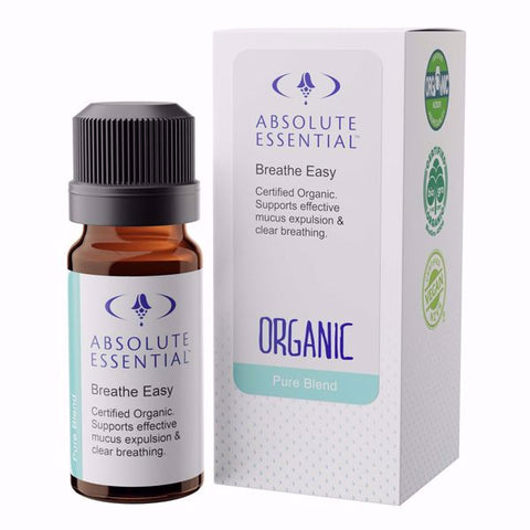 Absolute Essential Breathe Easy Organic 10ml