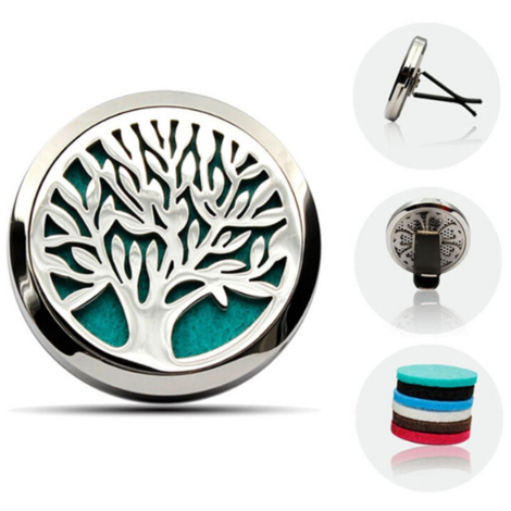 Dolphin Essential Oil Car Diffuser -Tree of Life
