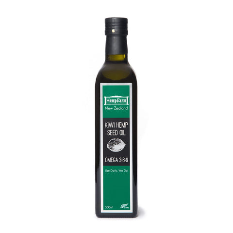 Hemp Farm Kiwi Hemp Seed Oil 500ml