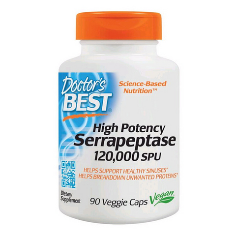 Doctor's Best Serrapeptase 90caps