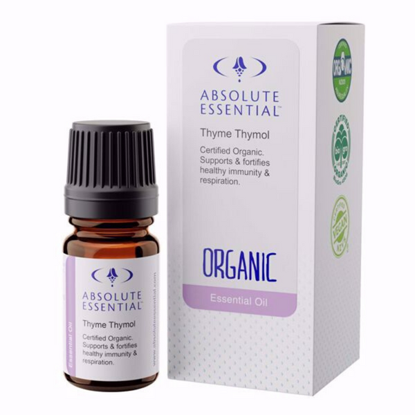 Absolute Essential Thyme Thymol Oil Organic 5ml