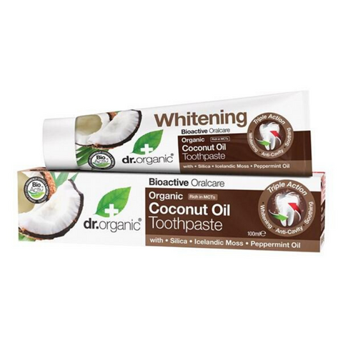Dr Organic Coconut Oil Toothpaste