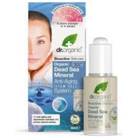 Dr Organic Dead Sea Mineral Anti-Ageing System 30ml