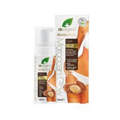 Dr Organic Moroccan Glow Self Tan - Dark 150ml