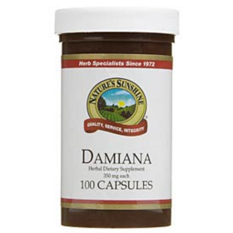 Nature's Sunshine Damiana 100caps