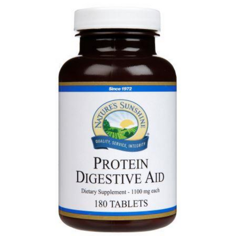 Nature's Sunshine Protein Digestive Aid 180tabs