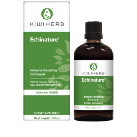 KiwiHerb Echinature HP 100ml with Active Manuka Honey