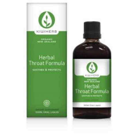 KiwiHerb Herbal Throat Formula 100ml