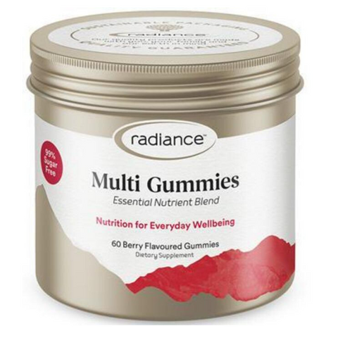 Radiance Adults Multi Sugar Free Gummies 60