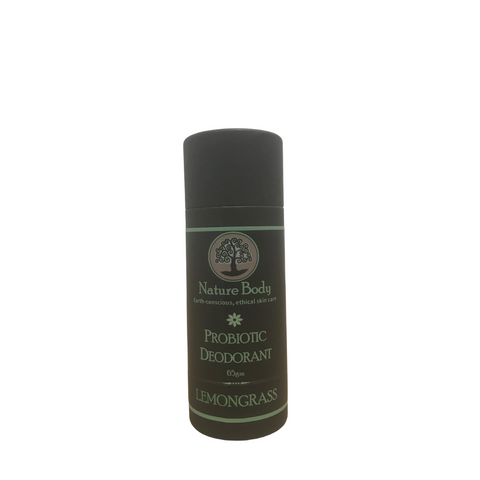 Nature Body Probiotic Stick Deodorant Lemongrass 65g