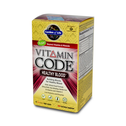 Garden of Life Vitamin Code Healthy Blood 60caps