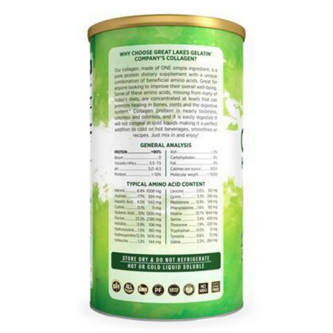 Great Lakes Collagen Hydrolysate Joint Care 454g