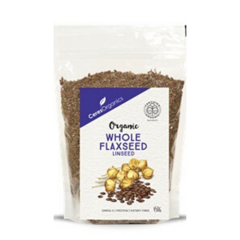 Ceres Whole Flaxseed (Linseed) Organic 450g
