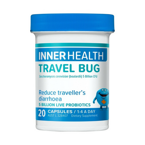 Ethical Nutrients Inner Health Travel Bug 20caps