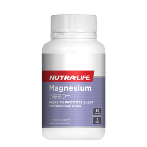 Nutralife Magnesium Sleep+ 60caps