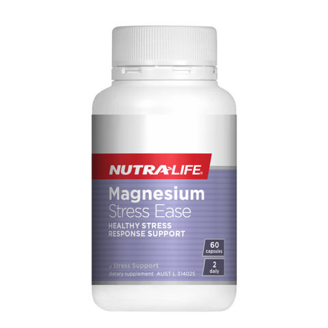 Nutralife Magnesium Stress Ease 60caps
