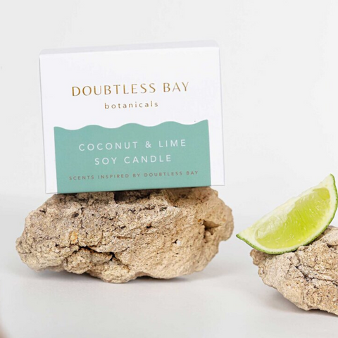 Doubtless Bay Soy Candle - Coconut & Lime