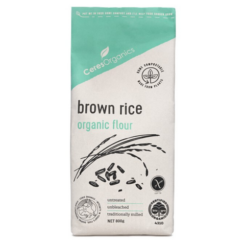 Ceres Brown Rice Flour Organic 800g