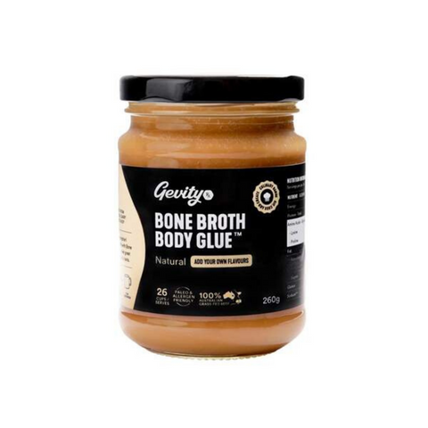 Gevity Rx Bone Broth Body Glue - Natural 260g