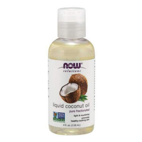 Now Liquid Coconut Oil 118ml