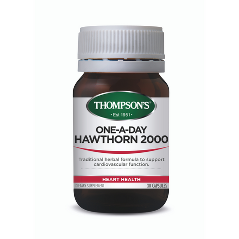 Thompson's Hawthorn 2000 30caps