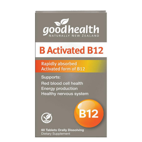 Good Health B Activated B12 60caps