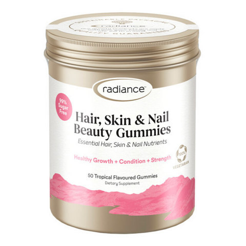 Radiance Hair, Skin & Nail Beauty Gummies Tropical 50