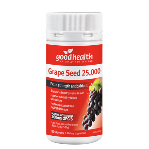 Good Health Grape Seed 25,000 120caps