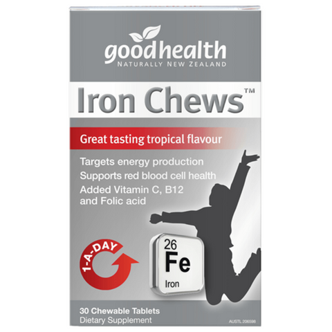 Good Health Iron Chews 30tabs
