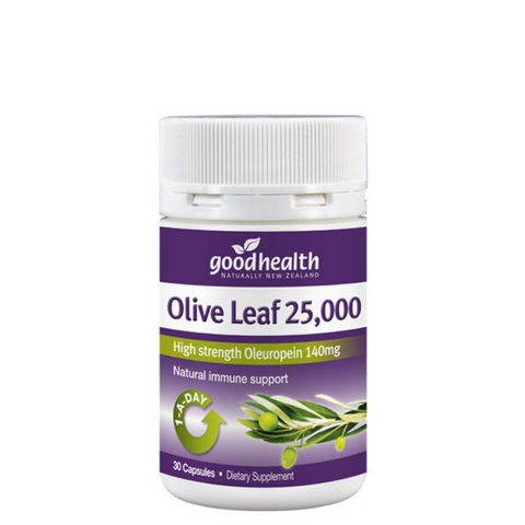 Good Health Olive Leaf 25,000 30caps