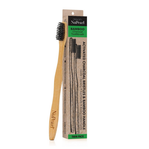 Oralgen Charcoal Toothbrush - 2 Pack