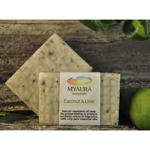 Myaura Coconut & Lime Soap