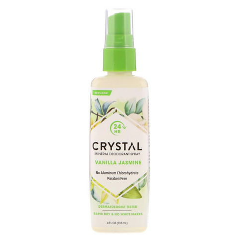 Crystal Spray Deodorant Vanilla Jasmine 118ml