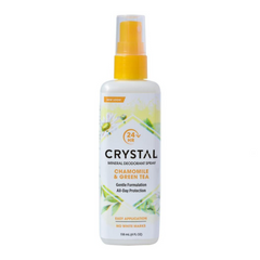 Crystal Spray Deodorant Chamomile & Green Tea 118ml