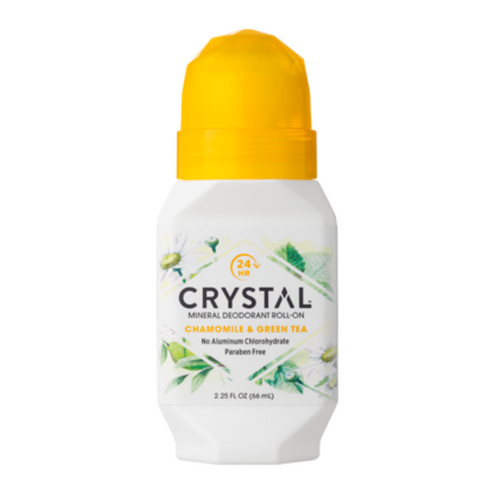 Crystal Roll On Deo Chamomile & Green Tea